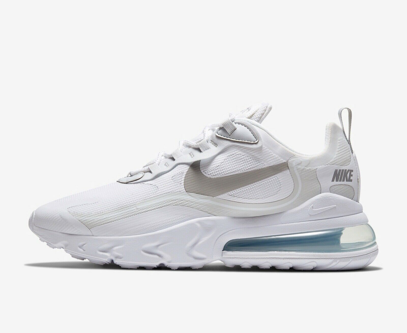 Nike Mens Air Max 270 React White