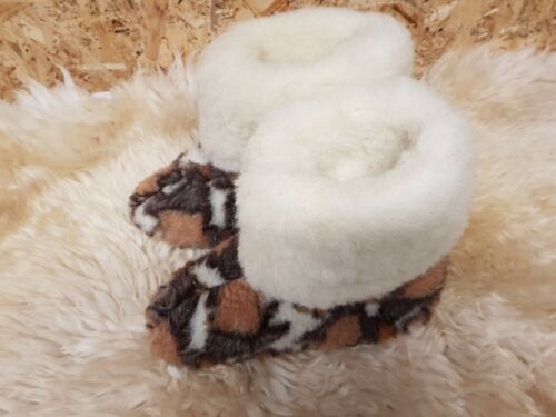 UNISEX WOMENS MENS SLIPPERS FUR THERMAL ANKLE BOOTS WARM SHOES ALL SIZES DB