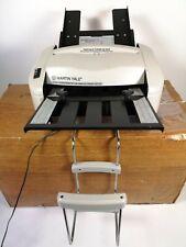 Martin Yale P7200 Rapid Fold Automatic Paper Folding Machine Excellent Condition