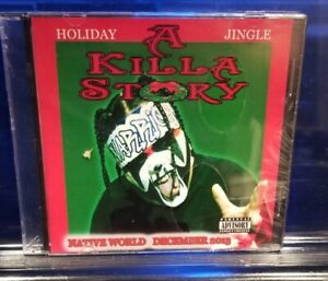 Anybody Killa - A Killa Story CD SEALED ABK christmas insane clown posse twiztid
