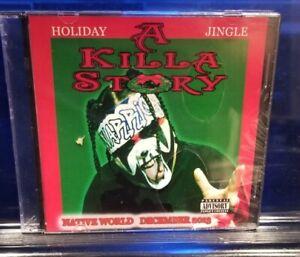 Anybody-Killa-A-Killa-Story-CD-SEALED-ABK-christmas-insane-clown-posse-twiztid