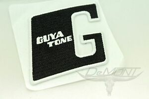 """(3) Guyatone G Embroidered Patch / Sticker 2.5"""" - Ships from USA ( #D )"""