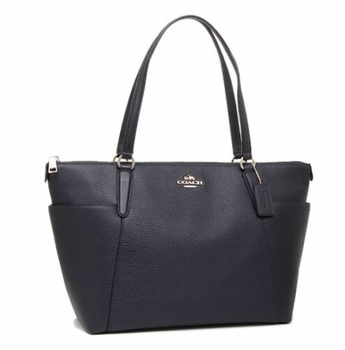Stone Leather Handle Ava Long étiquette Coach Bag 37216 Ii Night Nouveau Half Avec XfqawZ