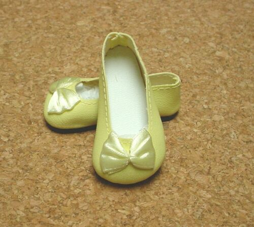 Others 46mm YELLOW Slip ons for Ann Estelle Doll Shoes