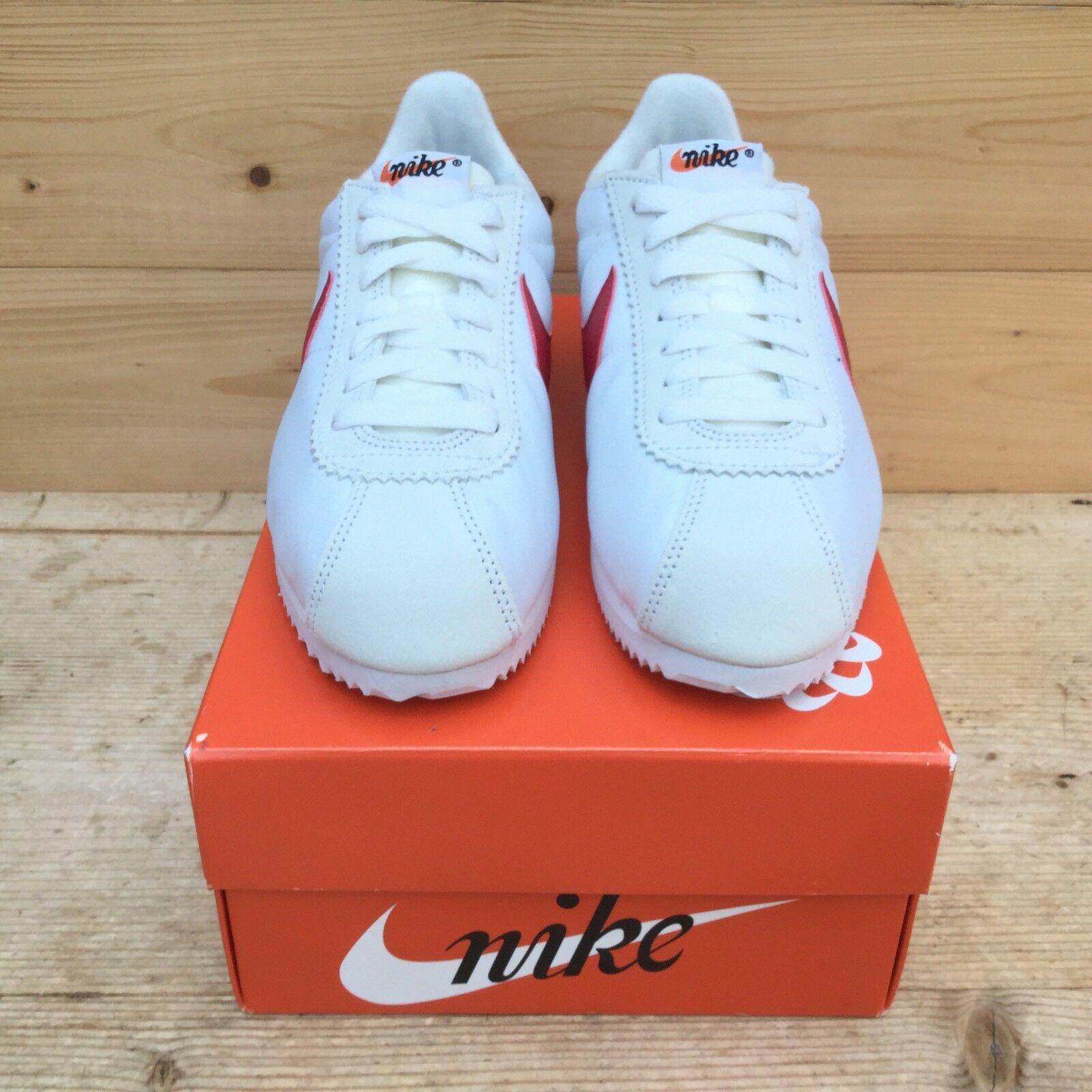 Nike cortez og qs, weiß weiß qs, - rot forrest gump 847709-164 uns 5 35874a