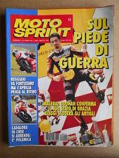 MOTOSPRINT n°14  1995 [Q75] Yamaha XJ 600 N - Max Biaggi Cadalora