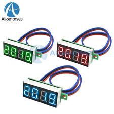 036 Inch Digital 4 Digit Voltmeter Led 0 100v Voltage Tester Panel Meter 3 Wire