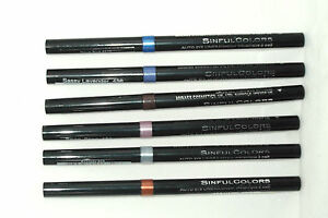 SINFUL COLORS AUTO EYELINER choose your colour