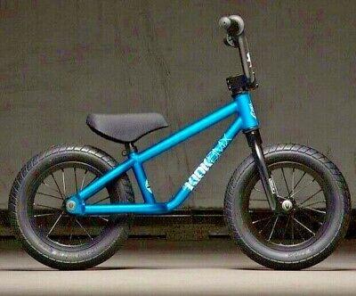 "Gloss Splash Blue 2020 Kink BMX Coast 12/"" Balance BMX Bicycle"