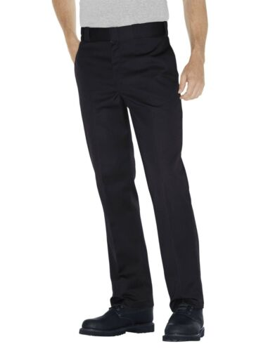 NEUF * Dickies Men/'s WP873 Coupe Slim Coupe Droite Travail Pantalon