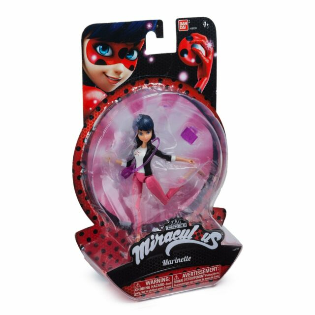 "BANDAI ZAG Miraculous Marinette, Ladybug, Heroez, Action FIgure, 15 cm / 6"""
