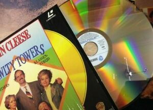 FAWLTY-TOWERS-Laser-Disc-3-Episodes-90-Min-Dutch-Subtitles