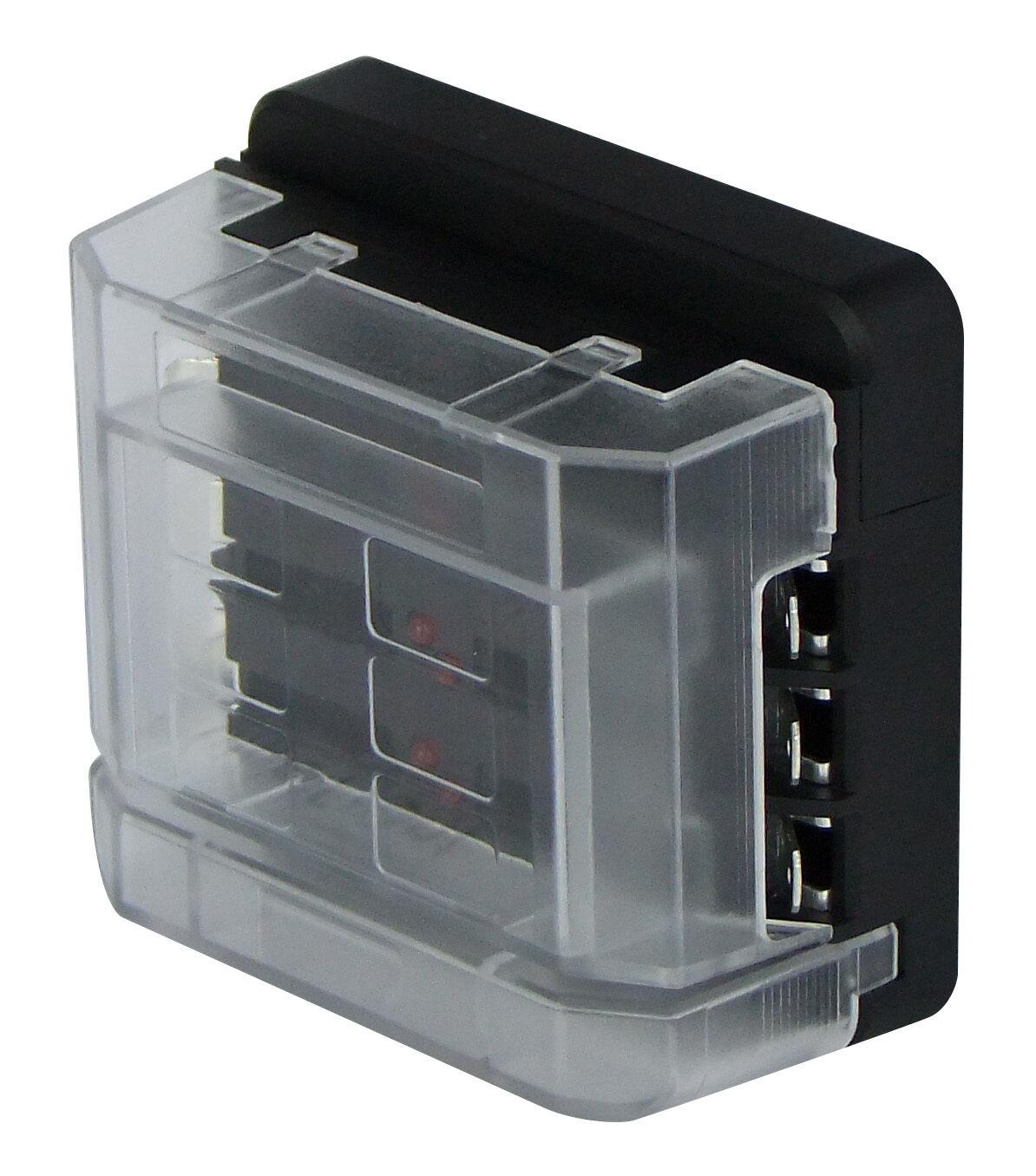 Circuit Fuse Box 6 Way 12 Volt Or 24 Volt 100 Amp Modular