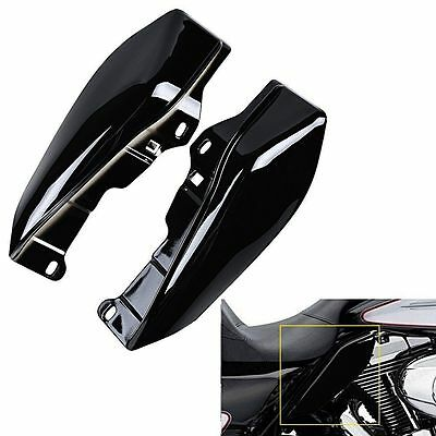 ABS Black Mid-Frame Air Deflector For Harley Touring FLHT FLTR FLHX 09-16 10 11
