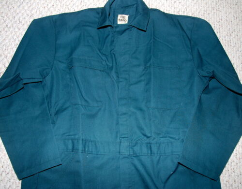REED SPRUCE GREEN UNLINED COVERALLS  SIZE 54 x 33 NEW