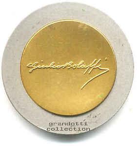 GIULIO-BOLAFFI-GRANDE-MEDAGLIA-BIMETALLICA-CELEBRATIVA-1987