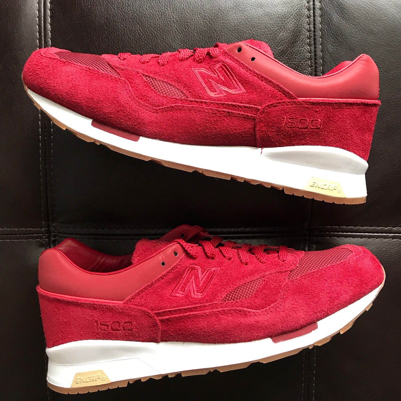 DS NEW 2013 Saint Alfred x NEW BALANCE 1500 CM1500SA 1500 ABZORB RED SUEDE SZ 11