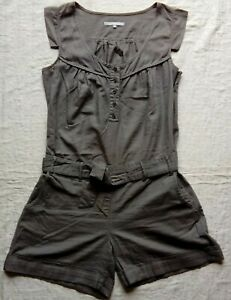 Somewhere-Combi-Short-tunique-coton-amp-Lin-taille-42