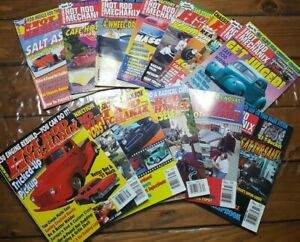 Hot-Rod-Mechanix-Magazines-Vintage-1994-1996-Lot-Of-14-Ford-Chevy-Mechanics