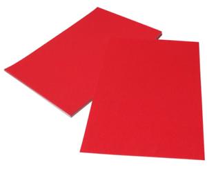 5 x Feuilles A4 Noir Paillettes Carte Non Shedding