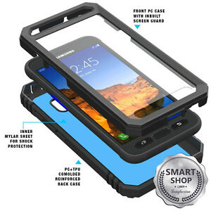 Poetic-Revolution-Case-Hybrid-Premium-Rugged-for-Samsung-Galaxy-S7-Active-Black