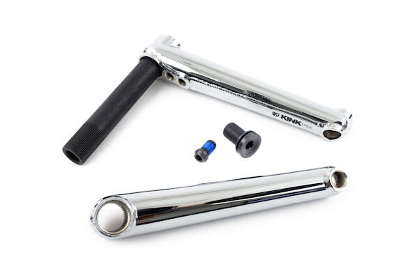 KINK BIKES PILLAR 2PIECE 175MM CHROME BMX BICYCLE CRANK