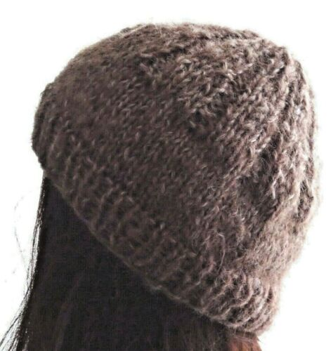 Hand Knitted Warm Beanie Men/'s Hat for the Winter Australia Made