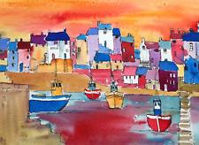 Boats Harbour Tide Mill /& River Woodbridge Suffolk Greetings Birthday Blank Card
