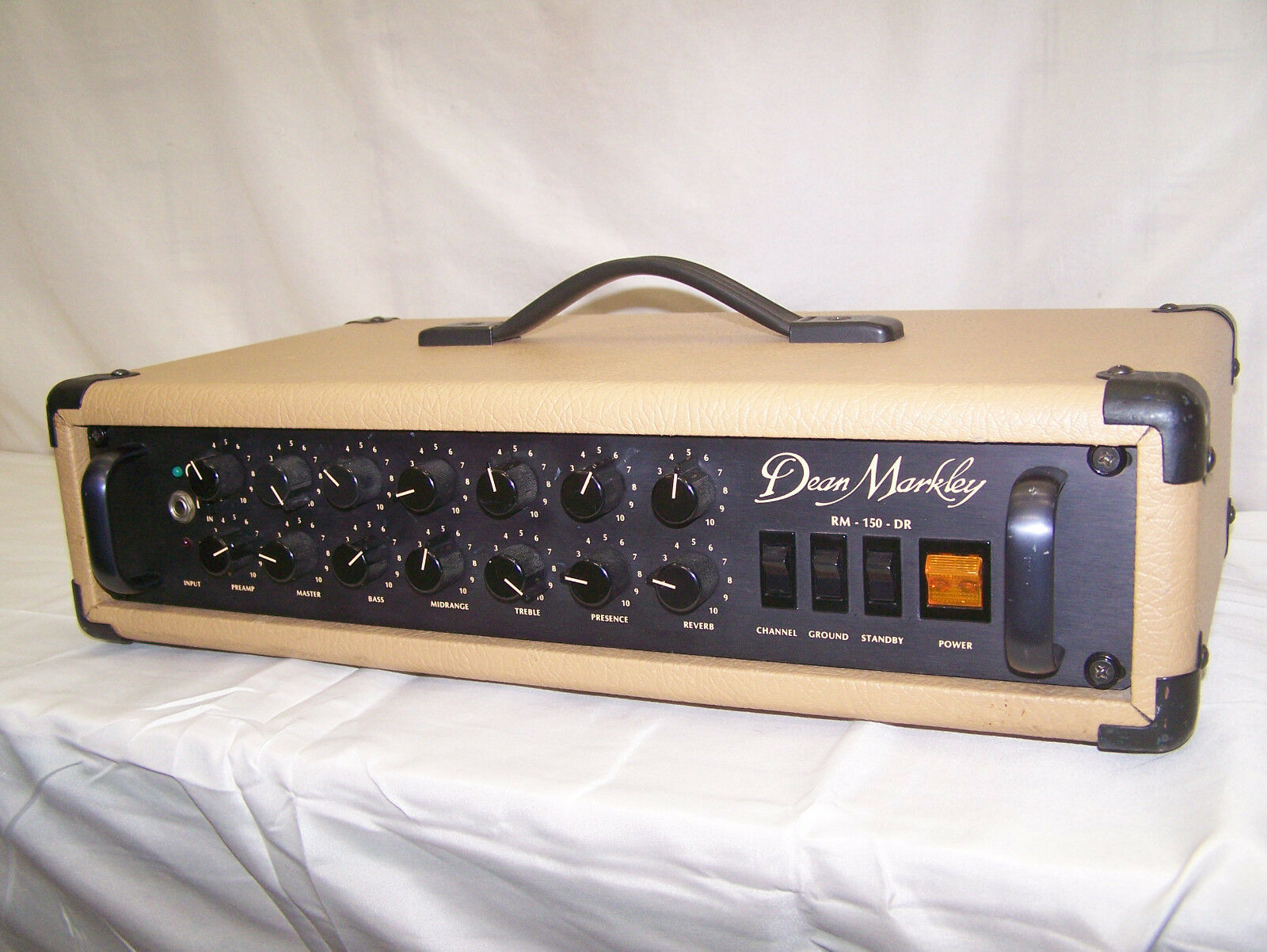 Dean Markley tube 1980's vintage amplifier head model RM-150-DR, Made in USA