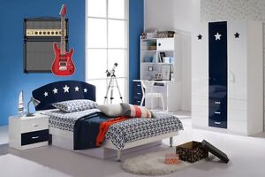 Wall Art Sticker Decal Transfer Guitar Amp Stereo Sound System Fender