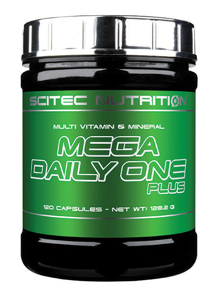 SCITEC NUTRITION MEGA DAILY ONE caps PLUS 60 & 120 caps ONE multi vitamin mineral a947fe