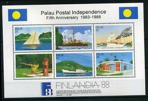 Palau-MiNr-Block-3-postfrisch-MNH-Schiffe-E746