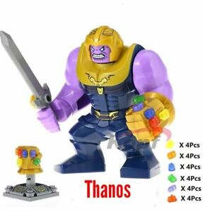 LEGO-Infinity-War-Thanos-Minifigure-with-Gauntlet-76107-Mini-Figure-Avengers