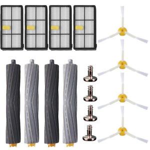 New Side Brush HEPA filter replenishment kit Irobot Roomba 800 900 870 880 980
