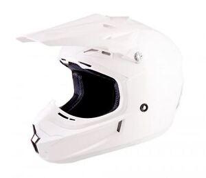Lazer-X7-Motocross-Helmet-Solid-White-X-Line-MX-Enduro-Off-road-Quad