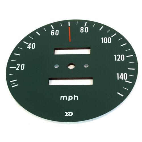 Honda CB 750 Four K2 Zifferblatt Tachometer Scheibe Tacho MPH Speedo Face Plate