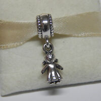 Authentic Pandora Charm 790860 Sterling Silver Little Girl Box Included