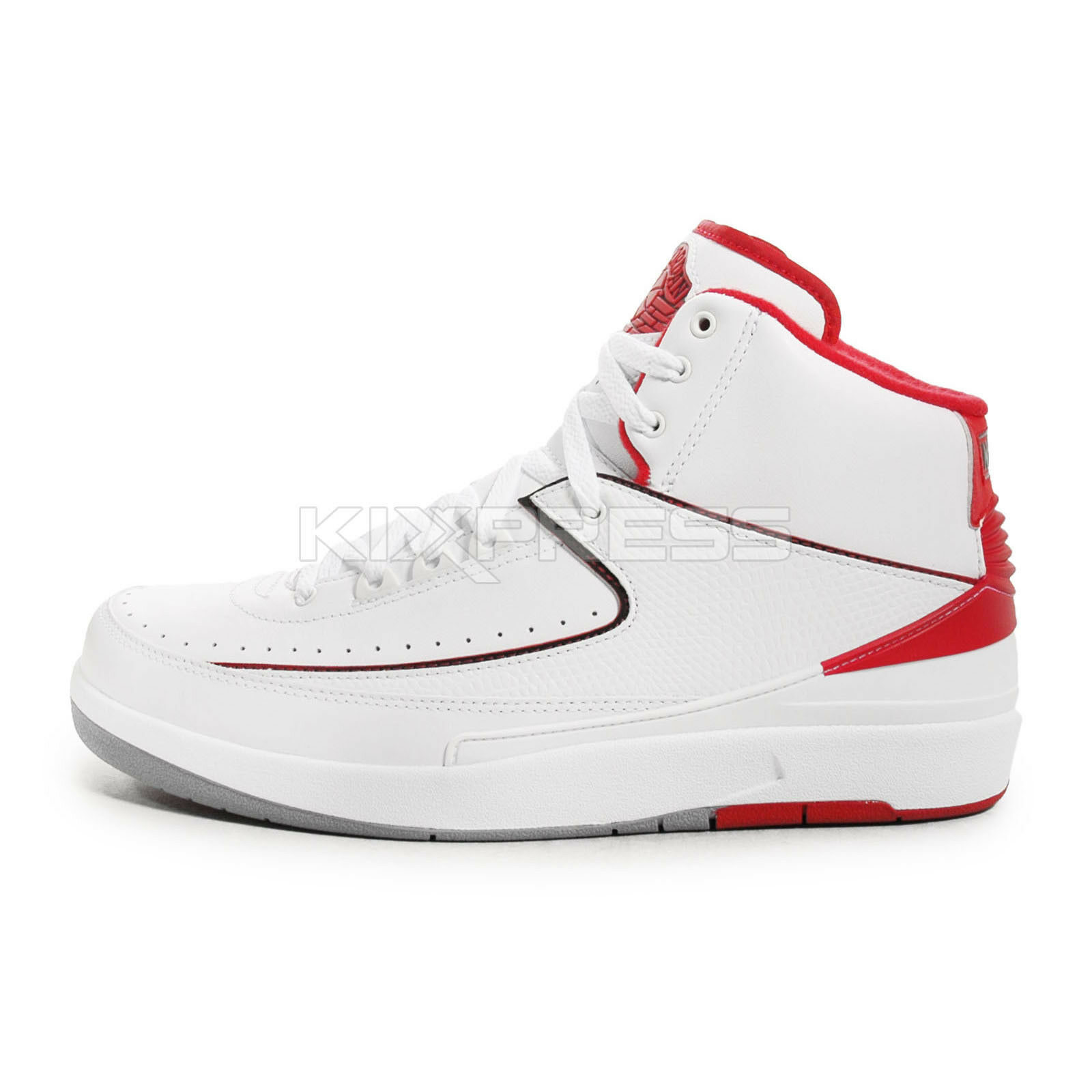 8fa3bdfe516 hot sale Nike Air Jordan 2 Retro [385475-102] Basketball White/Black ...
