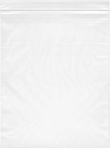 200-20x24 Zip Lock 2 MIL Reclosable Resealable Clear Ziplock Plastic Poly Bags