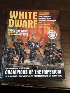 2019 Nouveau Style White Dwarf Magazine Issue 95 21st Novembre 2015 Games Workshop-afficher Le Titre D'origine