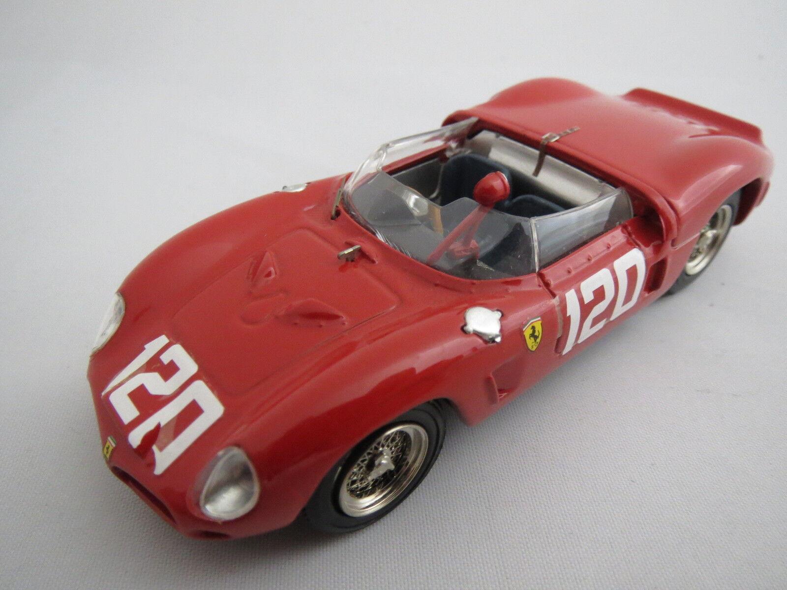 RAR  Art Model Ferrari Dino SP (1962), seltene Rennversion, rot, 1 43, TOP