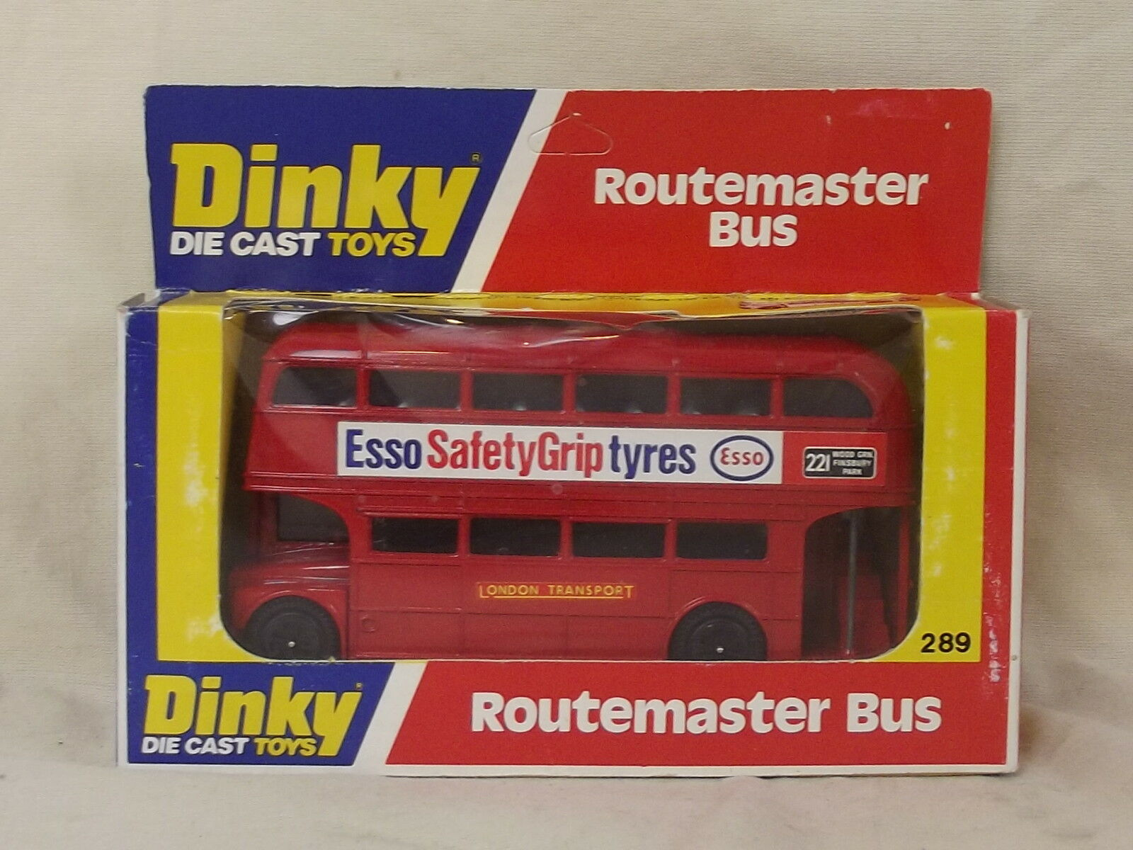 Dinky 289 Routemaster Bus (Esso)