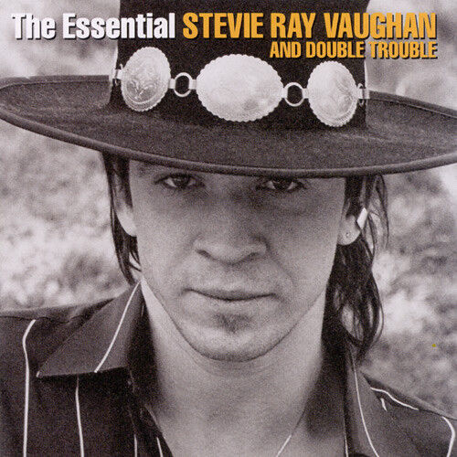STEVIE RAY VAUGHAN & DOUBLE TROUBLE The Essential 2CD BRAND NEW Best Of