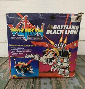 1984-Vintage-VOLTRON-Battling-Black-Lion-G1-1984-Motorized-Action-NEW