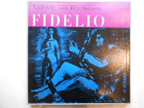 Schallplatte  ST33 Vinyl Ludwig van Beethoven Fidelio. 3 Schallplatten