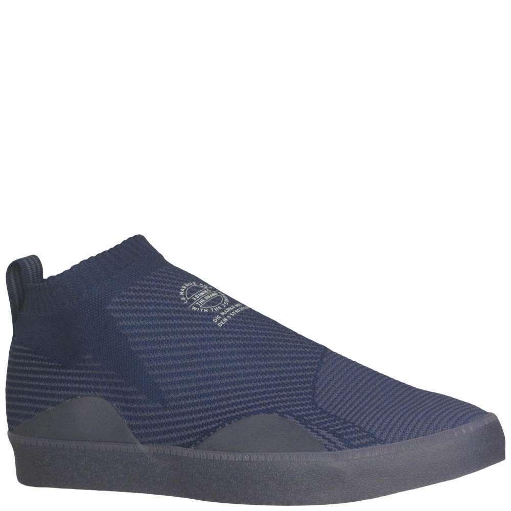 Men's Adidas 3ST-002 Primeknit - bluee - Width  med - Fashion Sneakers