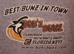 Image Is Loading Bob S Bunz Restaurant Tee Florida Keys Lrg
