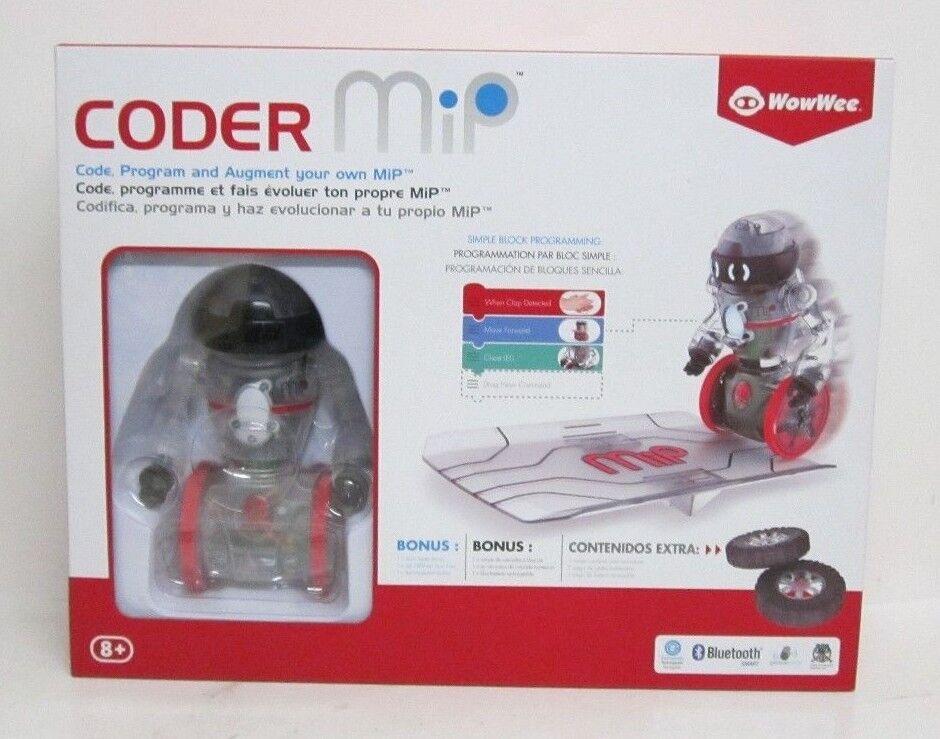 (RI3) WowWee Coder MIP Programmable Robot NEW
