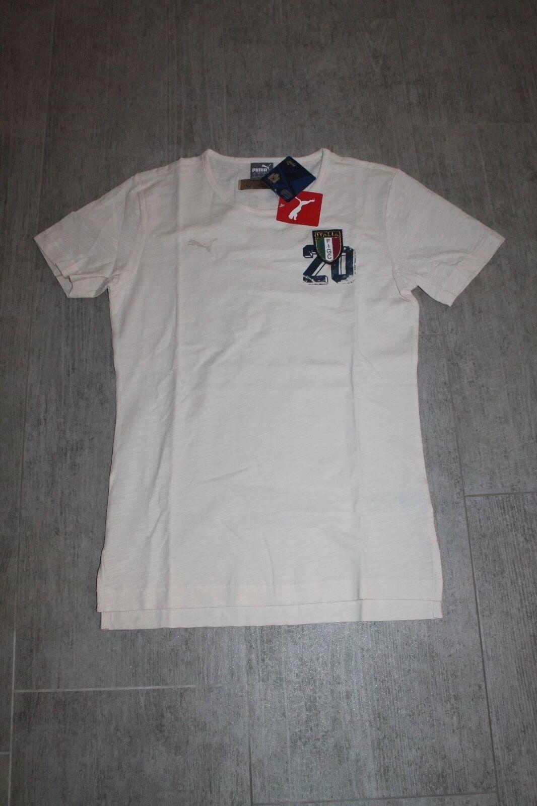 Puma Italien Chemise Pour Homme Blanc Crème avec taille S neuf avec Crème étiquette f9a9de