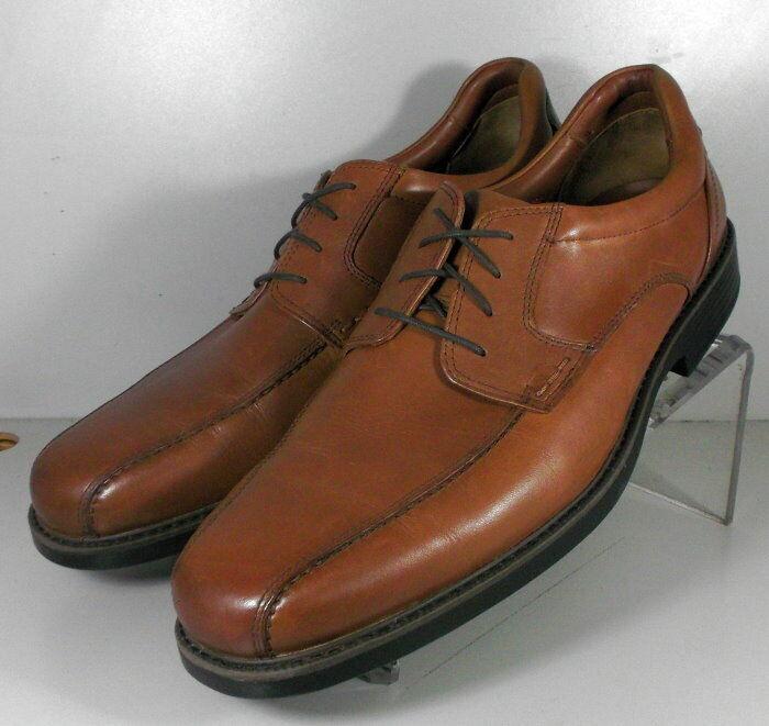 208990 WT50 Mens Shoes Size 10.5 M Tan Leather Lace Up Johnston Murphy Walk Test